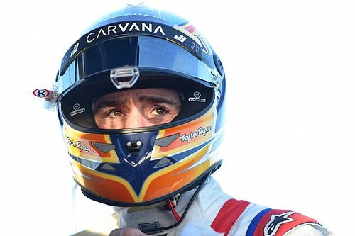 Johnson won't let expectations affect IndyCar debut