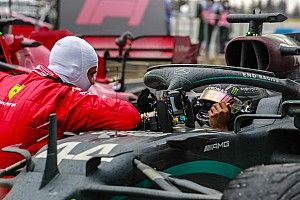 "Vettel told Hamilton it was ""special"" to see him make history"