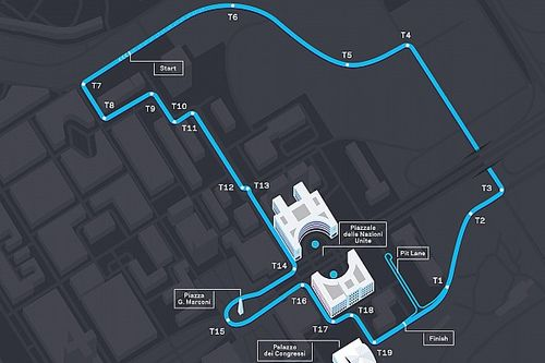 F-E revela novo layout do ePrix de Roma