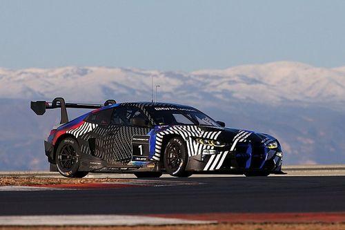 La BMW continua con soddisfazione i test sulla M4 GT3