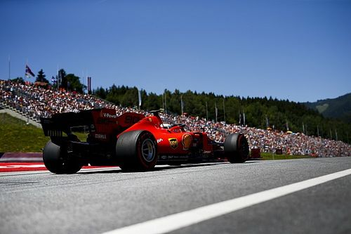 Strategi ban Ferrari disebut berisiko