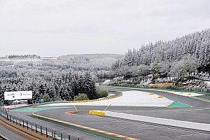 Трассу «6 часов Спа» покрыло снегом перед стартом гонки