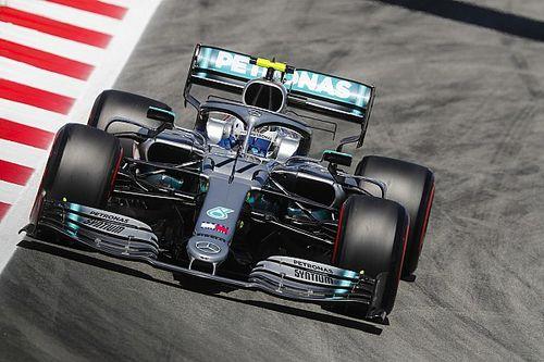 西班牙大奖赛FP1:博塔斯最快但遭遇机械隐患