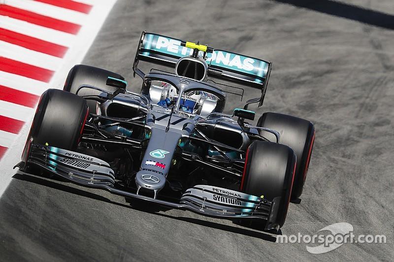 F1スペインFP1:レッドブル・ホンダのフェルスタッペンにトラブル発生。ボッタスがトップタイム