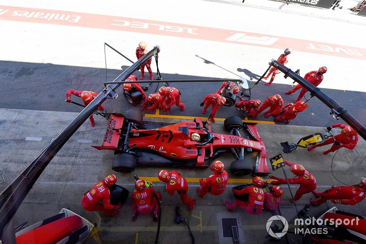 Ferrari cierra filas: Binotto, respaldado por el CEO de la compañía