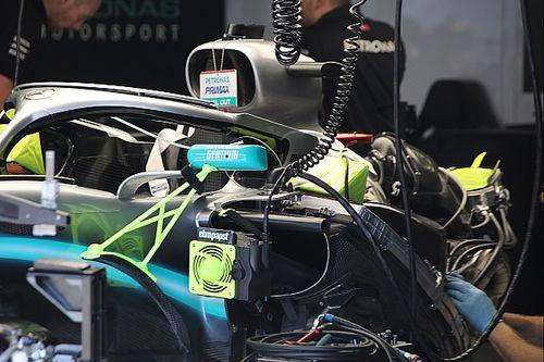 Mercedes tuvo problemas en Austria por sus compactos radiadores