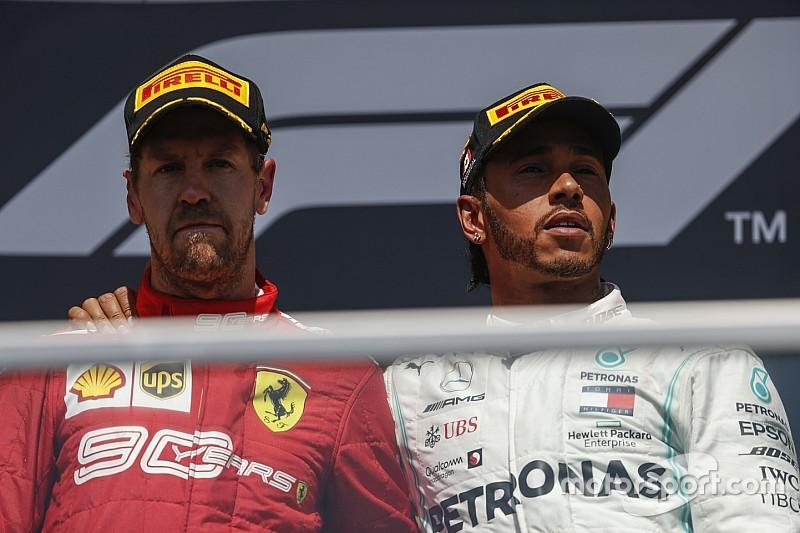 """Vettel: """"La gente non deve contestare Lewis, ma questa decisione assurda"""""""