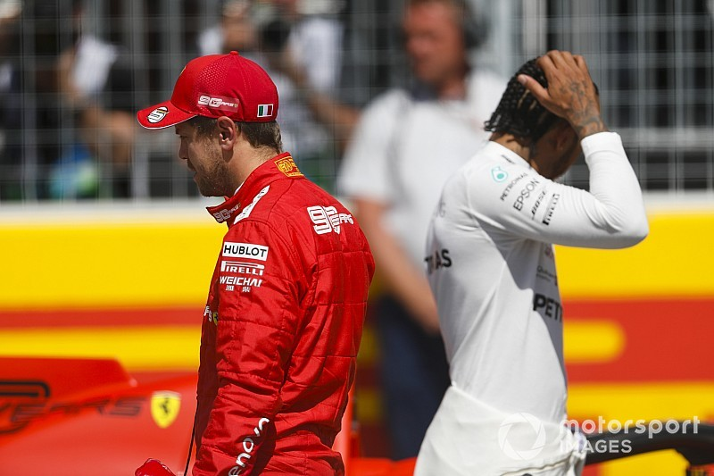 Hamilton: Saya akan melakukan hal yang sama seperti Vettel