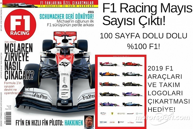 F1 Racing Mayıs sayısı çıktı