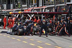 Así fueron las paradas en pits en Mónaco