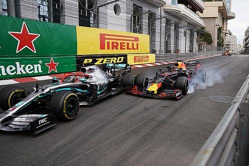 """Webber: """"Inhaalpoging van Verstappen is wat we willen zien"""""""