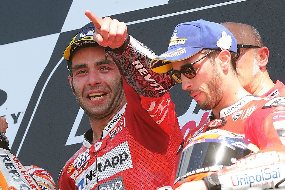"""Petrucci e la magia del Mugello: """"L'anno scorso ho firmato con Ducati e oggi ho vinto!"""""""