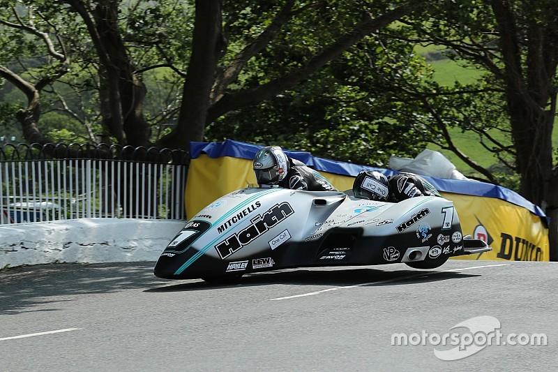 Isle of Man TT: Birchall brothers win Sidecar opener