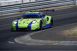 Krohn's Porsche withdrawn after heavy practice crash