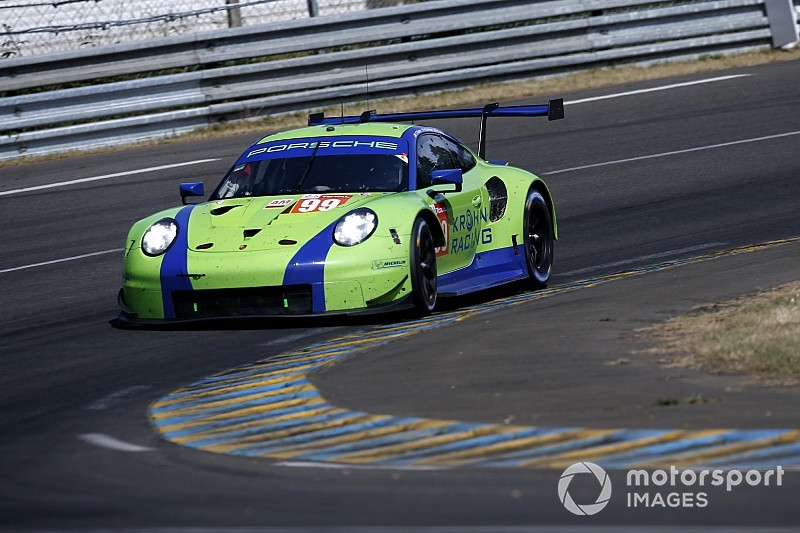 Krohn's Porsche withdrawn after heavy practice crash