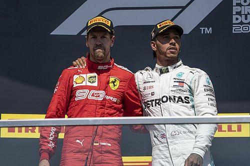 """Hamilton: """"J'aurais probablement fait pareil"""" que Vettel"""