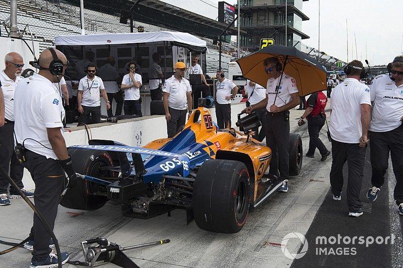 Problemas para Alonso en la práctica final antes de la clasificación