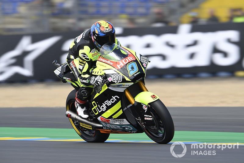 Moto2フランス予選:ホルヘ・ナヴァッロが2戦連続でポール獲得! ランク首位バルダッサーリは3列目スタートに