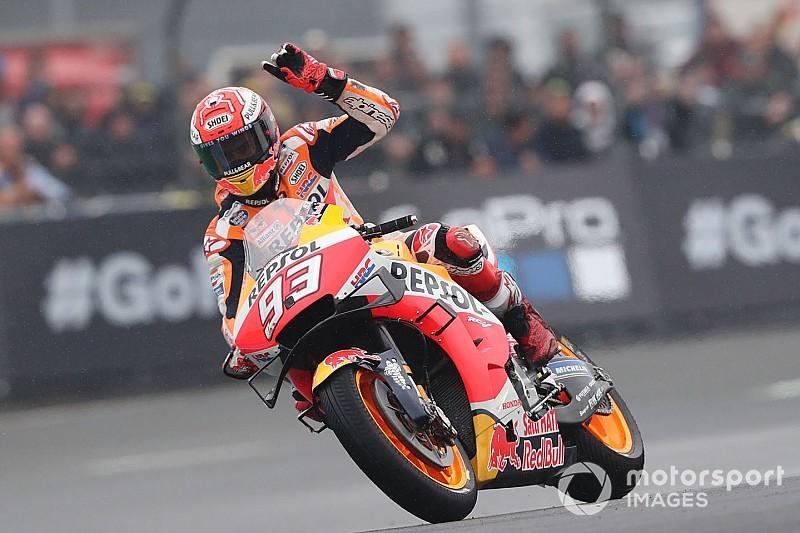 Marquez domina anche a Le Mans, sul podio le Ducati di Dovi e Petrucci