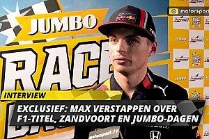 Exclusief: Verstappen over titelstrijd, Zandvoort en Jumbo Racedagen