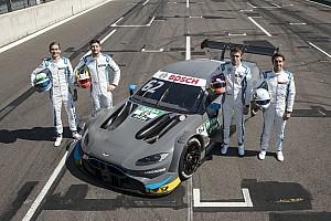 Le R-Motorsport prêt à sauter dans le grand bain du DTM à Hockenheim ce week-end avec l'Aston Martin