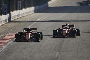 """Hamilton: """"Leclerc Bakuban végig gyorsabb volt Vettelnél"""""""