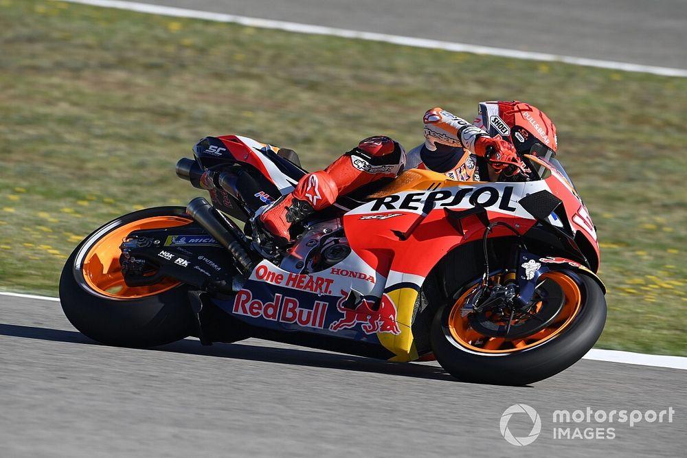 """MotoGP: Márquez precisa ser """"cuidadoso"""" com feedback sobre moto da Honda"""