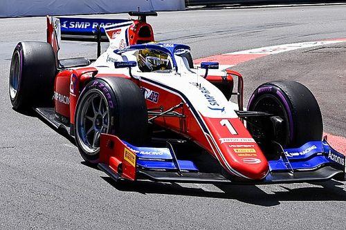 Удар о стену не дал Шварцману финишировать в первой гонке Формулы 2 в Монако