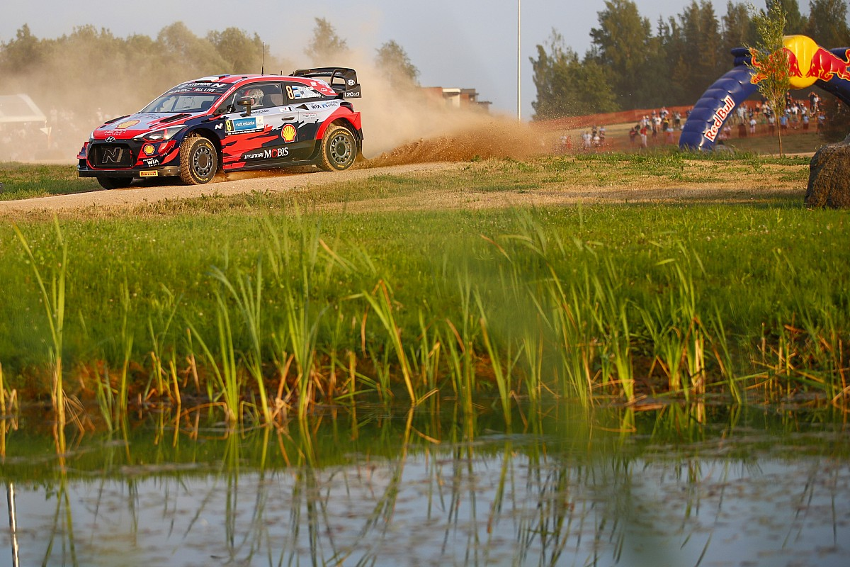 WRC Estonia: Rally favourite Tanak suffers shock early retirement