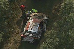 Neuville sale líder de un viernes criminal en el Rally Safari de Kenia