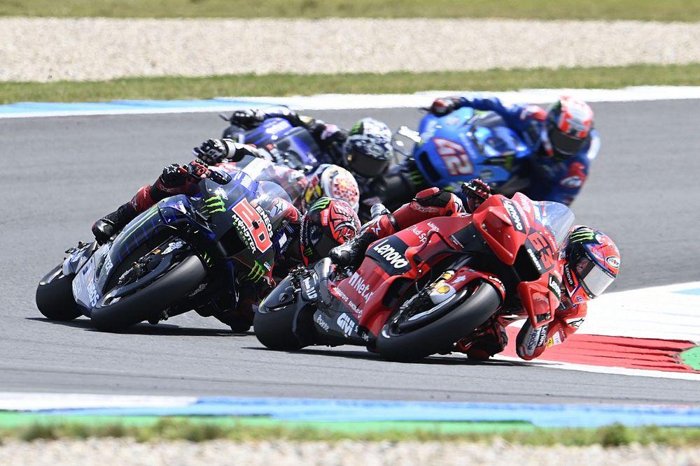 """Bagnaia: """"Más que Yamaha sea la mejor moto, Quartararo es el mejor piloto"""""""