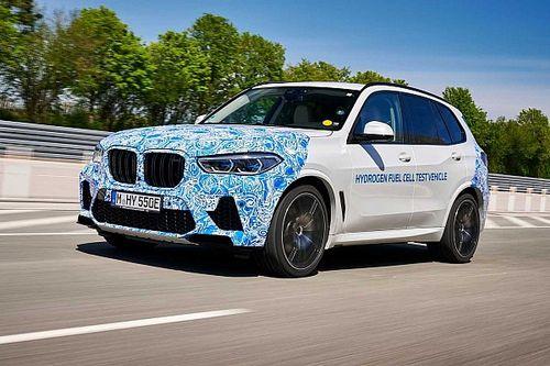 Le BMW i Hydrogen NEXT débute les tests sur route