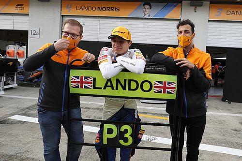Bos McLaren Merasa Norris Sedikit Beruntung