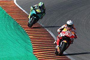 MotoGP: Rival de Rossi por muitos anos, Márquez exalta legado de italiano para categoria