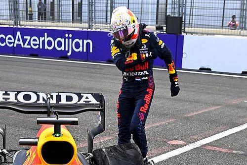 Verstappen Sulit Terima Kenyataan Gagal Finis di Baku