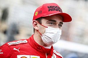 Leclerc fails to start Monaco GP with left driveshaft issue