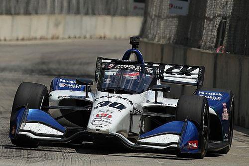 【インディカー】佐藤琢磨、デトロイトのレース2は前日の好結果を活かせず12位「スピードを少し失ったように思う」
