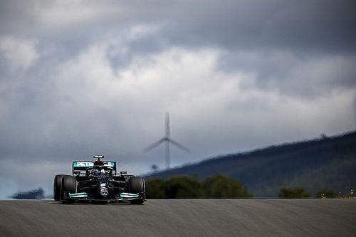 葡萄牙大奖赛FP1:博塔斯0.025秒领先维斯塔潘,汉密尔顿第五
