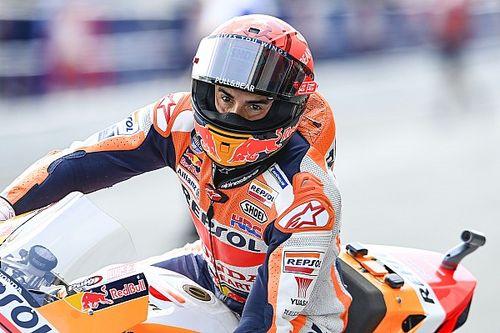 Marquez enyhe emlékezetkieséstől szenvedett a jerezi bukását követően