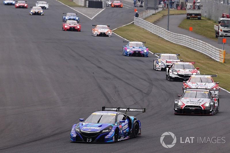 Avancement des 6H de Fuji: le Super GT doit modifier son calendrier