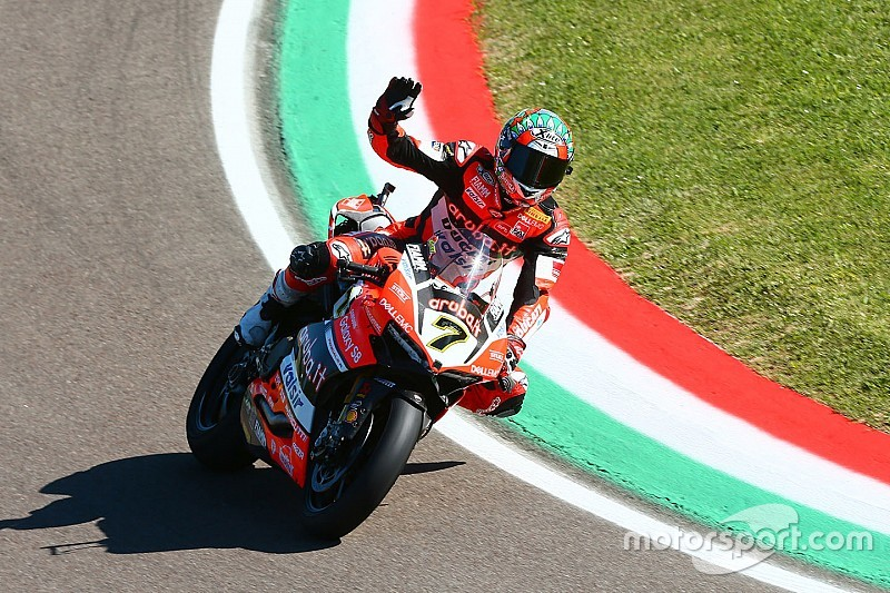 WorldSBK Italia: Davies bawa Ducati berpesta di Imola