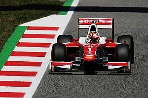 F2 Barcelona: Leclerc wint met dank aan de safety car