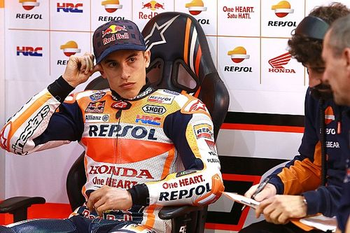 "Marquez admits ""everything went wrong"" on final test day"