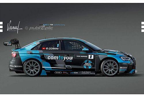 TCR 2017: Stefano Comini tritt mit Audi zur Titelverteidigung an