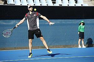 """Grosjean se sent comme Federer """"avec une raquette de ping-pong"""""""