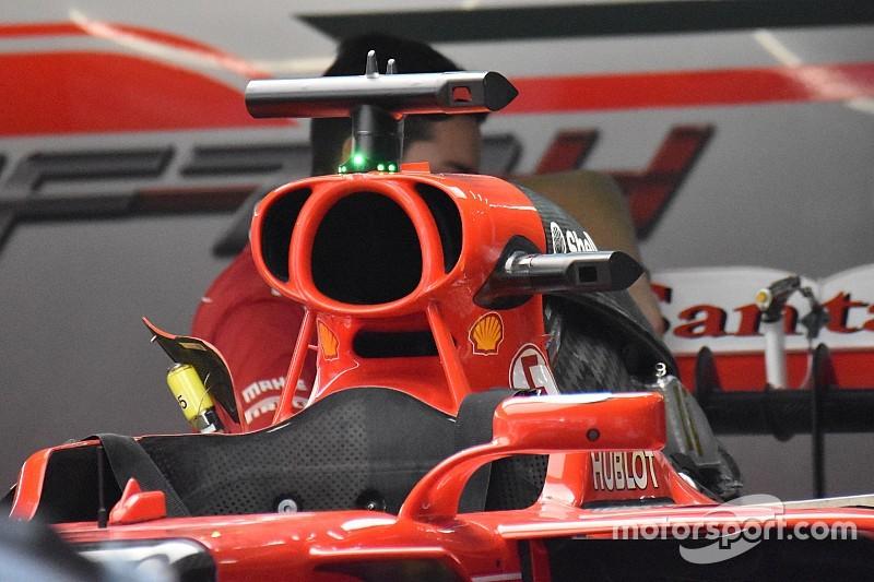 Ferrari: due orecchie ai lati dell'airbox per raffreddare la power unit!