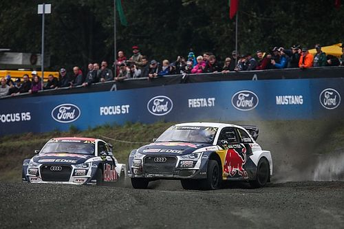 WRX 2017 Buxtehude: Mattias Ekström bricht die VW-Serie