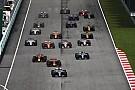 Az F1-es csapatok megszegték a szabályokat, mikor felszárították a rajthelyüket?!
