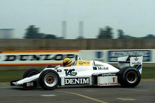 El primer test de Senna en Fórmula 1, de récord