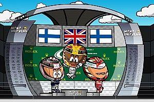 Vídeo: el GP de Gran Bretaña 2017 de F1, por MiniDrivers